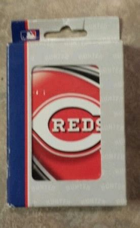 Cincinnati Gift Card - cincinnati reds playing cards
