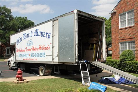moving and storage companies tx movers keller tx keller moving company olde world movers