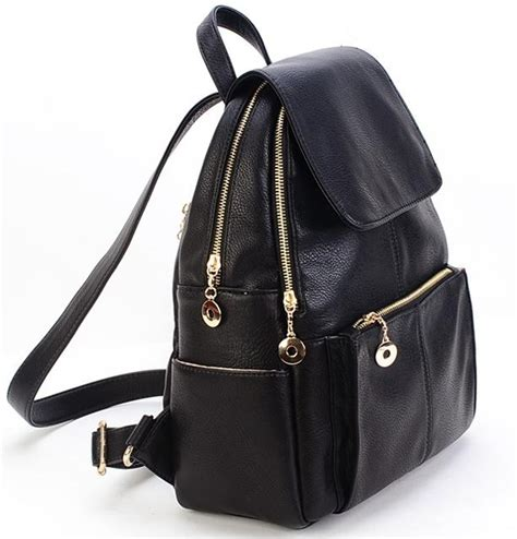 Tas 3 In 1 Slingbag Totebag Backpack Ransel Tas Sekolah new 2016 korea style fashion pu leather backpack
