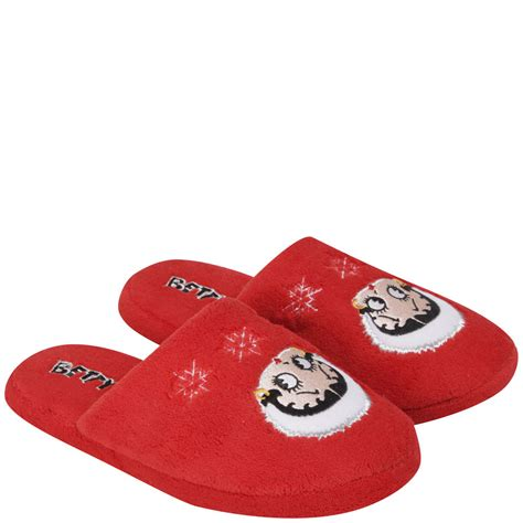 betty boop house shoes betty boop women s slippers red ebay