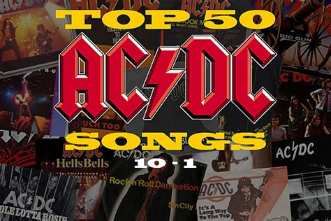 ac dc best top 50 ac dc songs 10 to 1