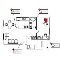 Crime Scene Exles Crime Diagram Templates