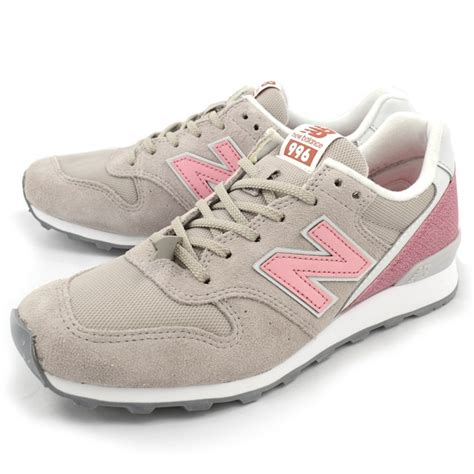 pink grey womens new balance 996 shoes