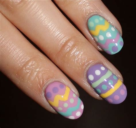 nail art easter tutorial nail art tutorial easter egg nails swatch and learn