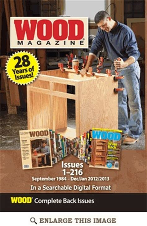 woodworking plans  projects magazine  issues