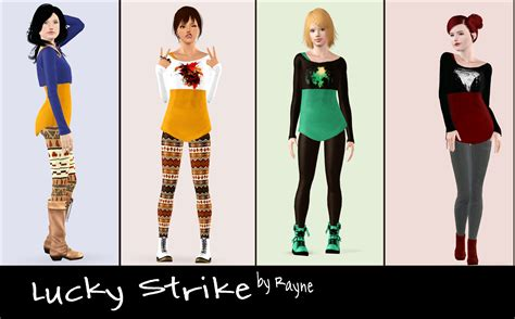 sims 3 teen clothes my sims 3 blog rayne s clothing now for teen females