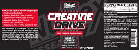 creatine drive nutrex research creatine drive
