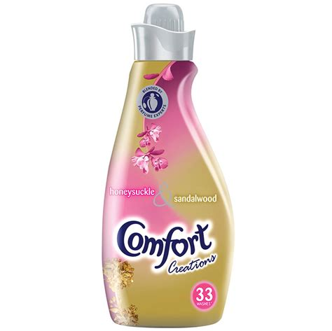 comfort creations comfort creations honesysuckle 1 16l fabric conditioner