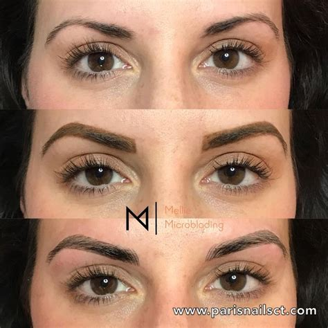 tattoo prices paris before and after eyebrows 3d microblading semi permanent