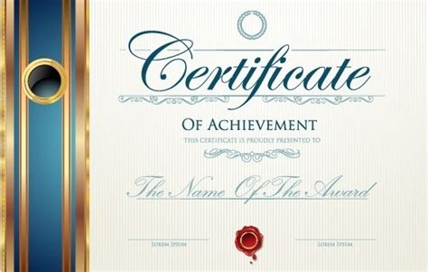 design certificate vector modern certificate design free vector download 6 647 free