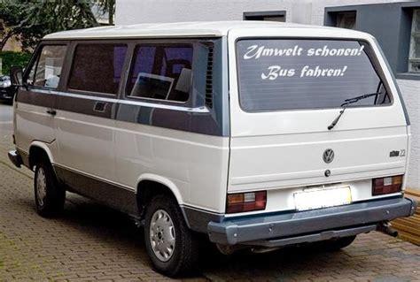 Ch Aufkleber Busse by Aufkleber F 252 R Kleinbus Vw Quot Umwelt Schonen Quot Ebay