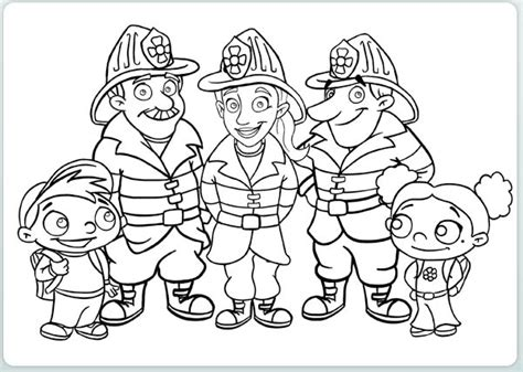 Free Coloring Pages Of Firefighter Badge Firefighters Coloring Pages
