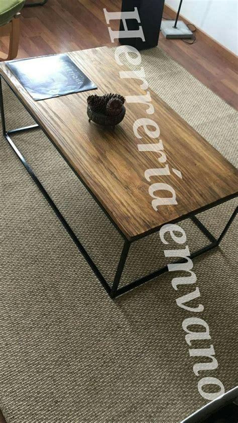 mesas ratonas rusticas tipo industrial en oferta