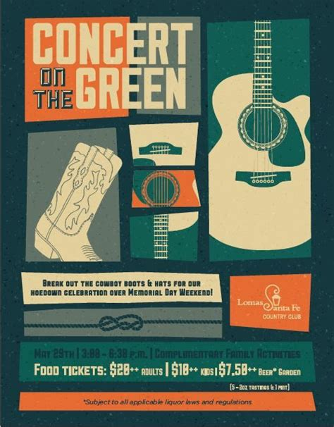 templates for concert posters 31 best live music concert events series images on