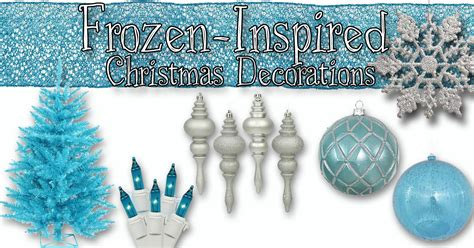 frozen inspired christmas decorations