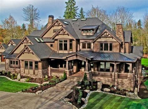Large Craftsman House Plans by 1000 Ideas About Craftsman Home Decor On