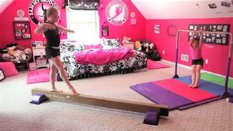 gymnastics at home room tumbl trak gymnastics room with home equipment