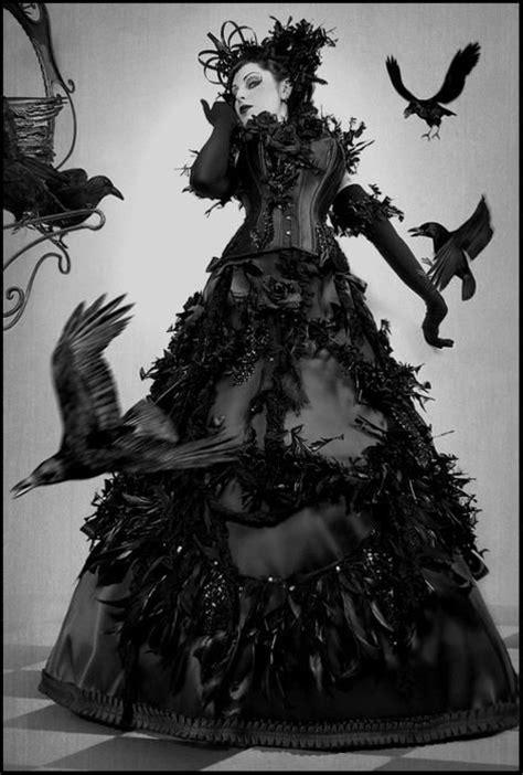 Raven Queen | costumes | Victorian goth, Goth, Dark gothic