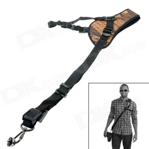 Single Shoulder Belt For Slr Dslr Yellow neck shoulder single shoulder sling yellow free shipping dealextreme