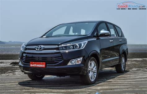 50000 units of 2016 toyota innova crysta sold in india