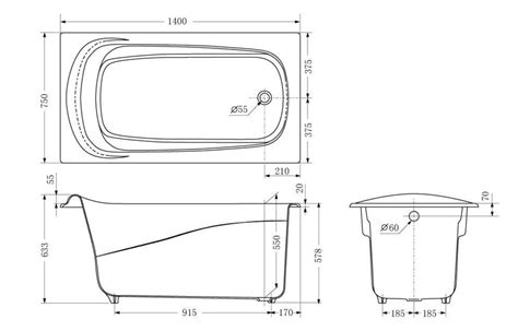 Regular Bathtub Size by Standard Bathtub Dimensions Pmcshop