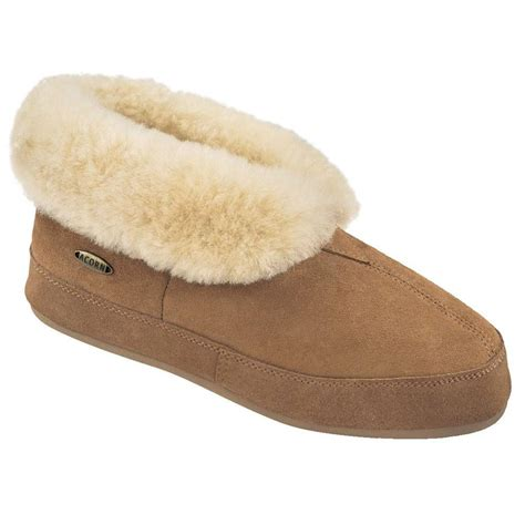acorn house shoes acorn womens sheepskin oh ewe ii slippers