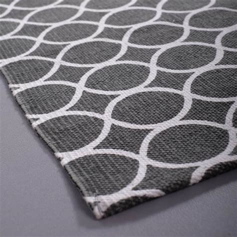 teppich flur grau retro flur l 196 ufer grau wei 223 mit kreisen ca 70x200 cm