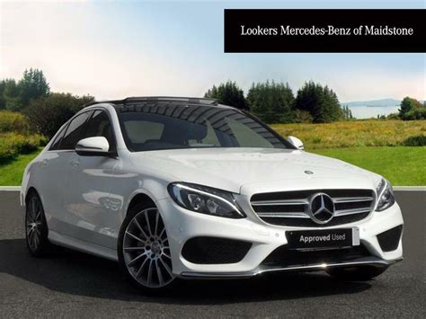 mercedes benz  class   amg  premium  white     maidstone kent gumtree