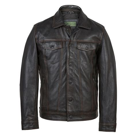 leather biker jackets for sale elvis men s black antique leather jacket hidepark leather