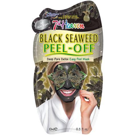 heaven face mask black seaweed skincare bm