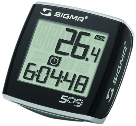 Jual Speedometer Sigma Bc sigma bc 509 bicycle speedometer bike trainers reviews