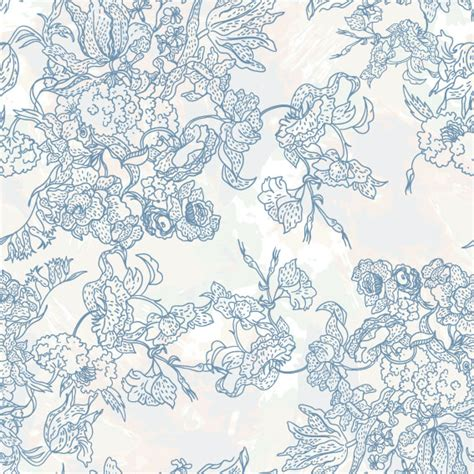 flower pattern line vector line art pattern background 02 vector download free