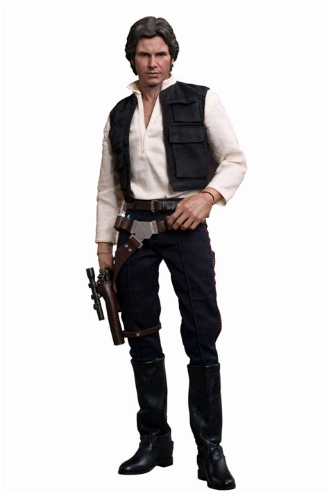 star wars han solo 0785193219 hot toys star wars han solo masterpiece series 1 6 scale figure merchandise zavvi com