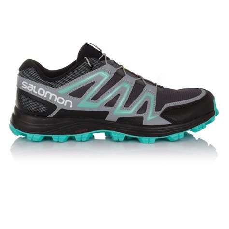 water resistant trail running shoes salomon speedtrak womens trail water resistant running