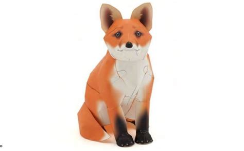 Papercraft Fox - 24 best images about papercraft on