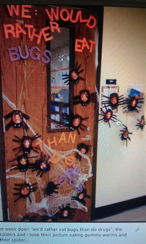 halloween themes for red ribbon week red ribbon week door idea holiday bliss pinterest