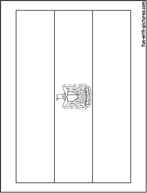 coloring page egypt flag egypt flag coloring page