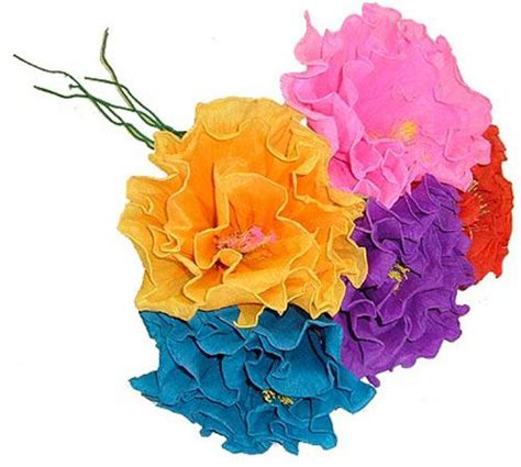 mexican paper flower tutorial best 25 mexican paper flowers ideas on pinterest tissue