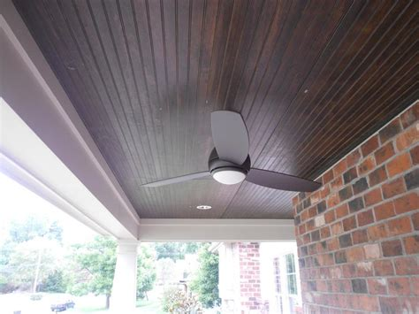 Stained Porch Ceiling 7 stained pine porch ceiling siding express