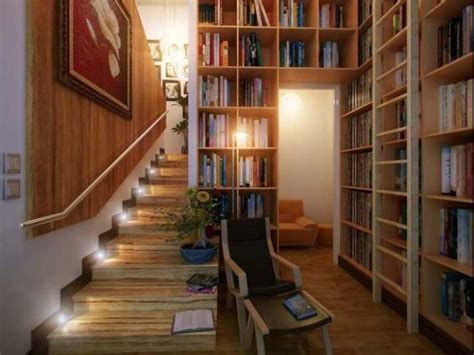 Small Library At Home Adorable Small Home Library Design 4 Decor Ideas