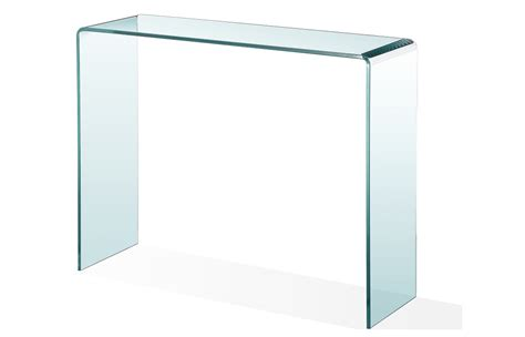 Bent glass furniture