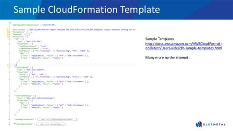 Cloud Formation Templates aws webcast datacenter migration to aws