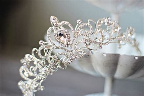 Crown Elizabeth Tiara Wedding Hair Import swarovski bridal tiara bridal tiara