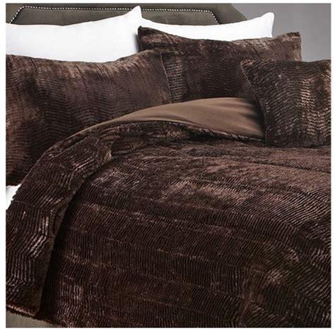 fur comforter queen alcove tiger fur 3 piece comforter bedding set queen ebay