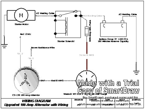 100 2 wire alternator diagram mopar alternator