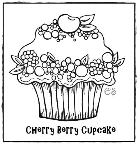 birthday cupcake coloring page coloring coloring pages for kids and the o jays on pinterest