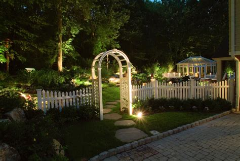 Landscape Lighting Arbor Copper Path Lights Expert Outdoor Lighting Advice