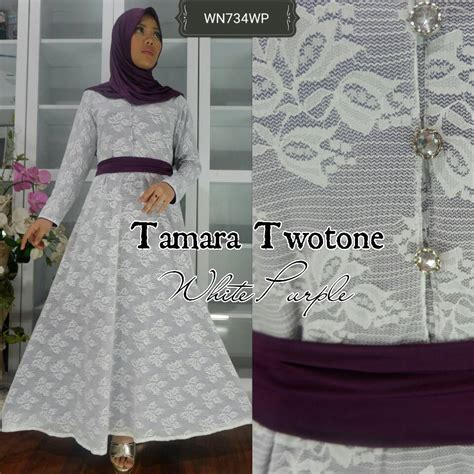 St Tamara Syari Syarii Tamara Gamis Maxi Tamara Terbaru ayuatariolshop distributor supplier gamis tangan pertama onlineshop baju hijabers tamara dress