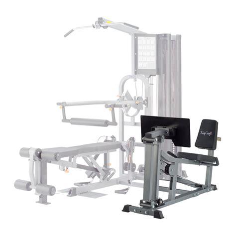 bodycraft leg press attachment for k1 home incredibody