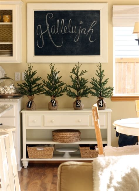 Kitchens Decorating Ideas | 40 cozy christmas kitchen d 233 cor ideas digsdigs